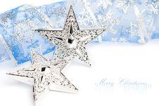 Free Christmas Stars Royalty Free Stock Photo - 17448645