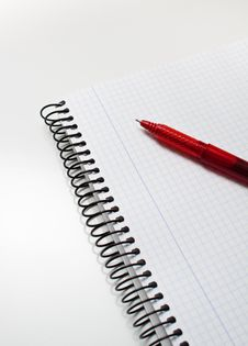 Free Notebook And Pen Stock Photos - 17448703