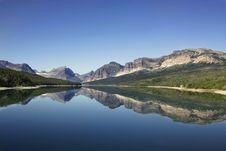 Free Lake Sherburne Stock Photography - 17448712
