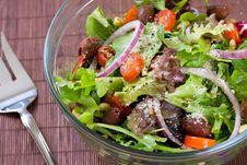 Free Bowl Of Salad Stock Photo - 17448720