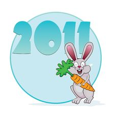 Free Year Of The Rabbit 2011 Stock Photos - 17449143
