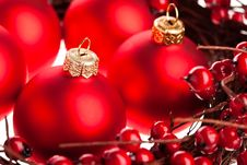 Free Christmas Decoration Stock Photography - 17449412
