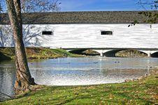 Free Covered Bridge Stock Photo - 17449490