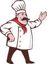 Free Italian Chef Cook Arms Extended Stock Photo - 17450800