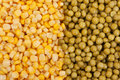 Free Yellow Corn And Green Beans Royalty Free Stock Photography - 17452217