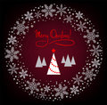 Free Christmas Wreath Royalty Free Stock Photos - 17457038