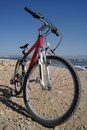 Free Red Bicycle Outdoors Royalty Free Stock Photography - 17459907