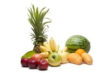 Free Group Of Fruits Stock Image - 17450011