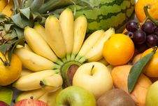 Group Of Fruits Stock Photos