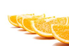 Free Oranges Isolated Royalty Free Stock Image - 17450186