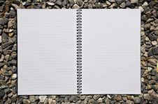 Free Empty Notebook Stock Image - 17450201