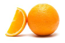 Free Oranges Isolated Royalty Free Stock Photos - 17450208