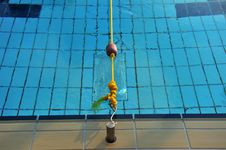 Free Float, Rope And Swimming Pool Stock Photos - 17450693