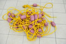 Free Rope And Float Stock Image - 17450841