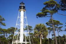 Free Cape San Blas Lighthouse Stock Photo - 17451280