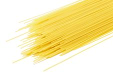 Free Dry Pasta, Isolated On White Background Royalty Free Stock Photo - 17451395
