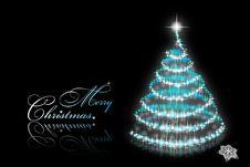 Free Abstract Christmas Tree Stock Photo - 17451560