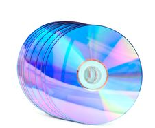 Free Computer Disks Royalty Free Stock Photo - 17451975