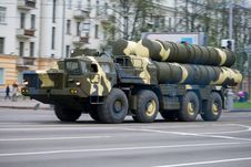 Free Anti-aircraft Complex S-300 In Motion Royalty Free Stock Images - 17452159