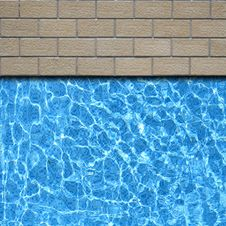 Free Pavement With Pool Stock Photography - 17452982