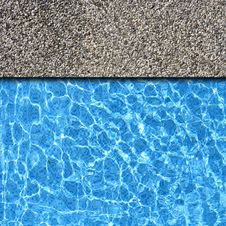 Free Stone Pavement With Pool Stock Photos - 17453023