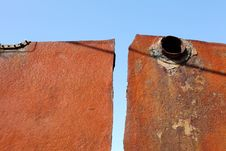 Free Rusted Metal Royalty Free Stock Photography - 17453137