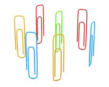 Free Paper Clips Stock Image - 17454001