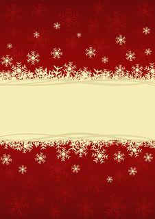 Christmas Festive Card Royalty Free Stock Image