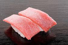 Free Premium Otoro Sushi Stock Photography - 17455222