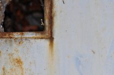Scratched And Rusted Metal Royalty Free Stock Photo