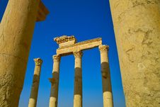 Free Pillars Of Palmyra Stock Photo - 17455380