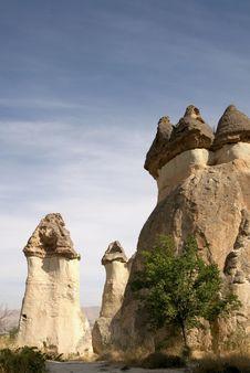 Free Chimneys In Goreme Turkey Stock Photos - 17455503