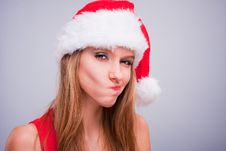 Free Christmas Girl Royalty Free Stock Photo - 17455535