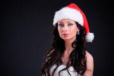 Free Christmas Girl Stock Photos - 17455573