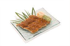 Unagi Sashimi Stock Images