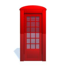Free Telephone Booth Stock Images - 17455924