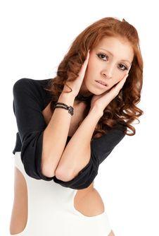 Free Beautiful Sexy Woman Stock Image - 17456171