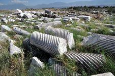Hierapolis Today Stock Photos