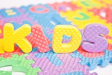 Free Word Toy Royalty Free Stock Photo - 17456545