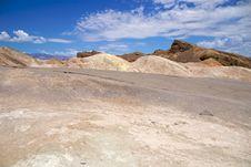 Free Death Valley Zabriskie Point Stock Image - 17456861