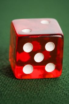 Free Casino Dice Stock Photography - 17456902