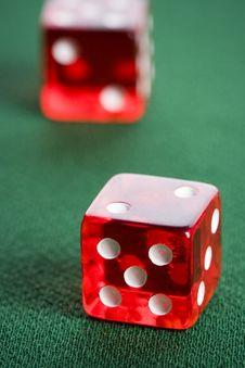 Free Casino Dice Stock Images - 17456924