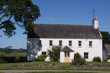 Scottish Farm House Royalty Free Stock Image