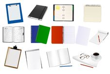 Free Some Office Supplies. Royalty Free Stock Photography - 17457177