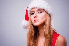 Free Christmas Girl Stock Photos - 17457333
