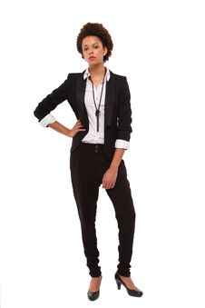 Free Business Woman Royalty Free Stock Photo - 17457435