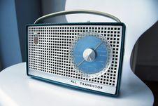 Free Retro Transistor Radio Stock Image - 17457451