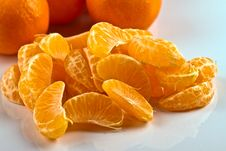 Free Peeled Clementines Stock Image - 17457721
