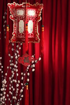 Free Chinese New Year Decoration Royalty Free Stock Photography - 17457787