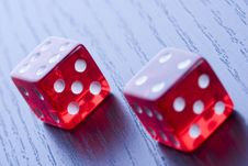 Free Casino Dice Royalty Free Stock Photo - 17457845